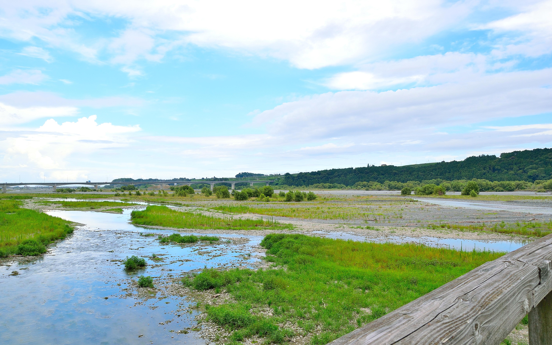 蓬莱橋大井川