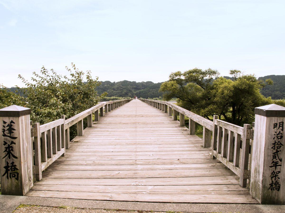 静岡が誇る世界で一番長い木造の橋   東海道最大の難所に架かる「蓬莱橋」の歴史