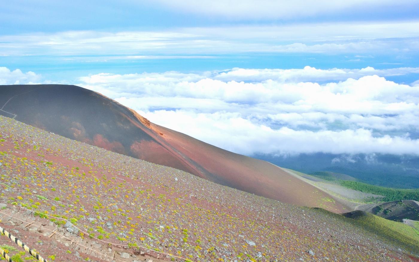 富士山からの絶景