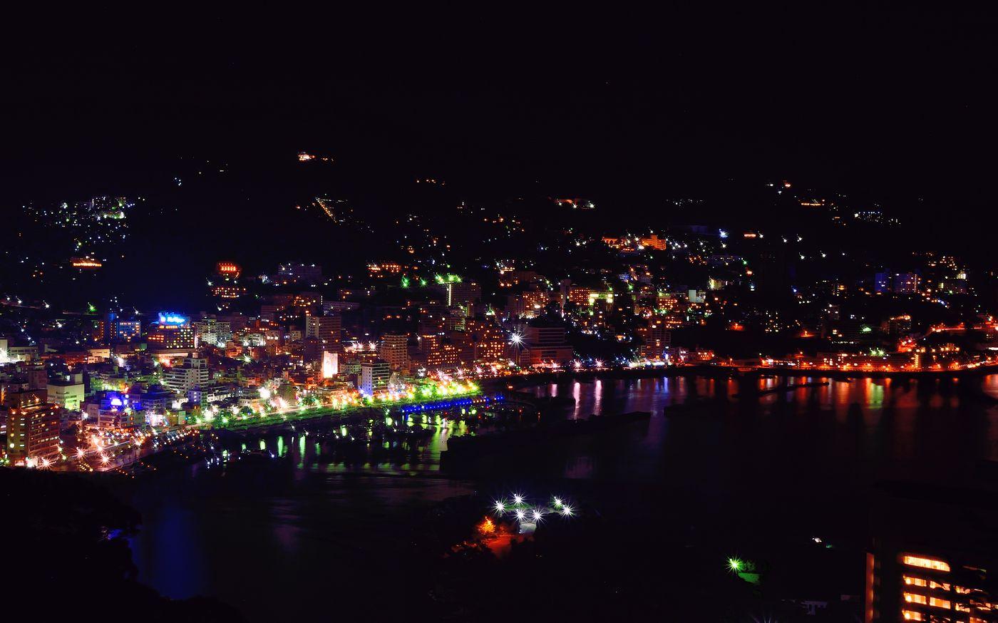熱海城_夜景