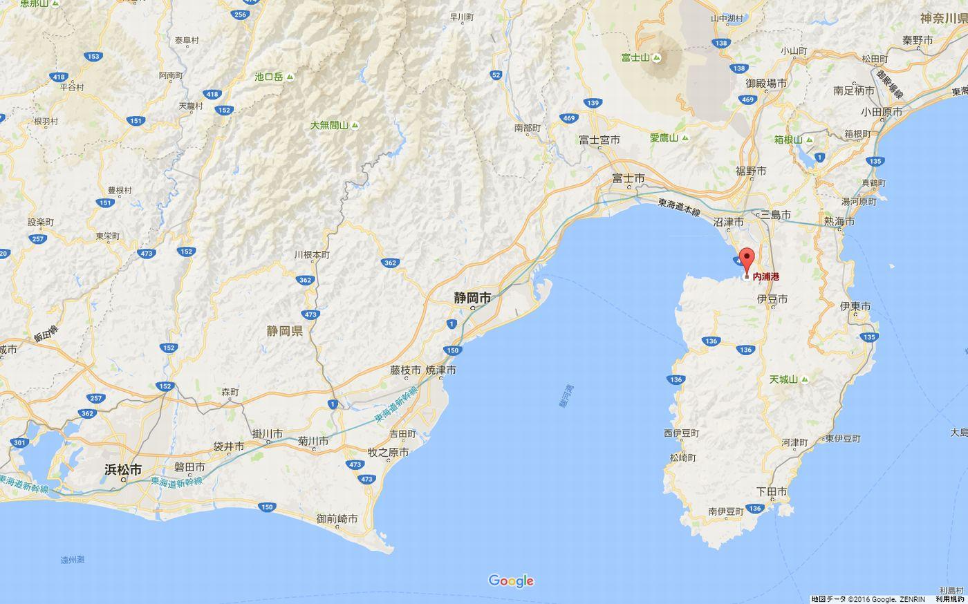 内浦港_地図