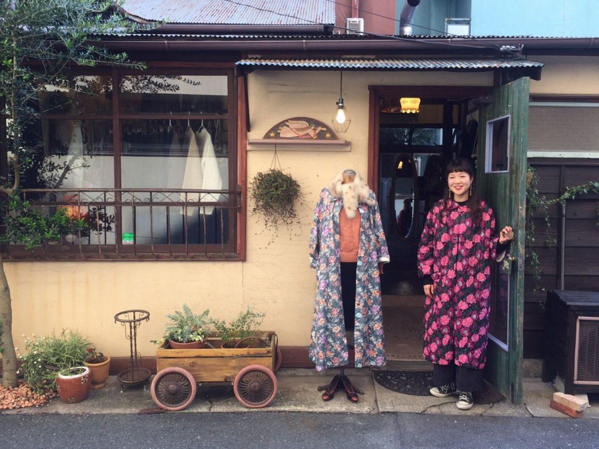 浜松のおしゃれ女子に思いがけない幸せを 街のお姉さんが待つレトロな古着屋さん「Serendipity」