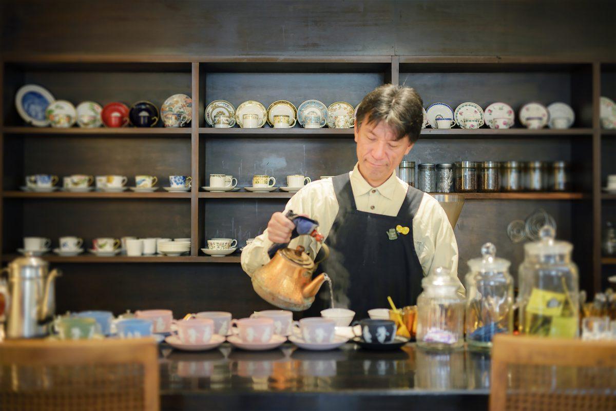 あの有名俳優も通った「Cafe Blanc(カフェブラン)」 沼津で営む素敵な珈琲と紅茶の家