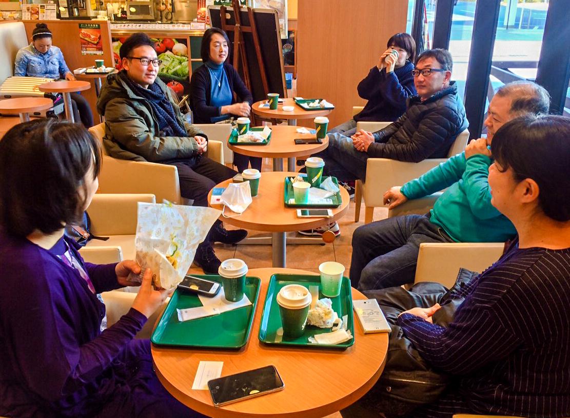 開催400回を越えた静岡駅前の異業種交流会 「朝食会」で出会いの科学反応を起こそう!