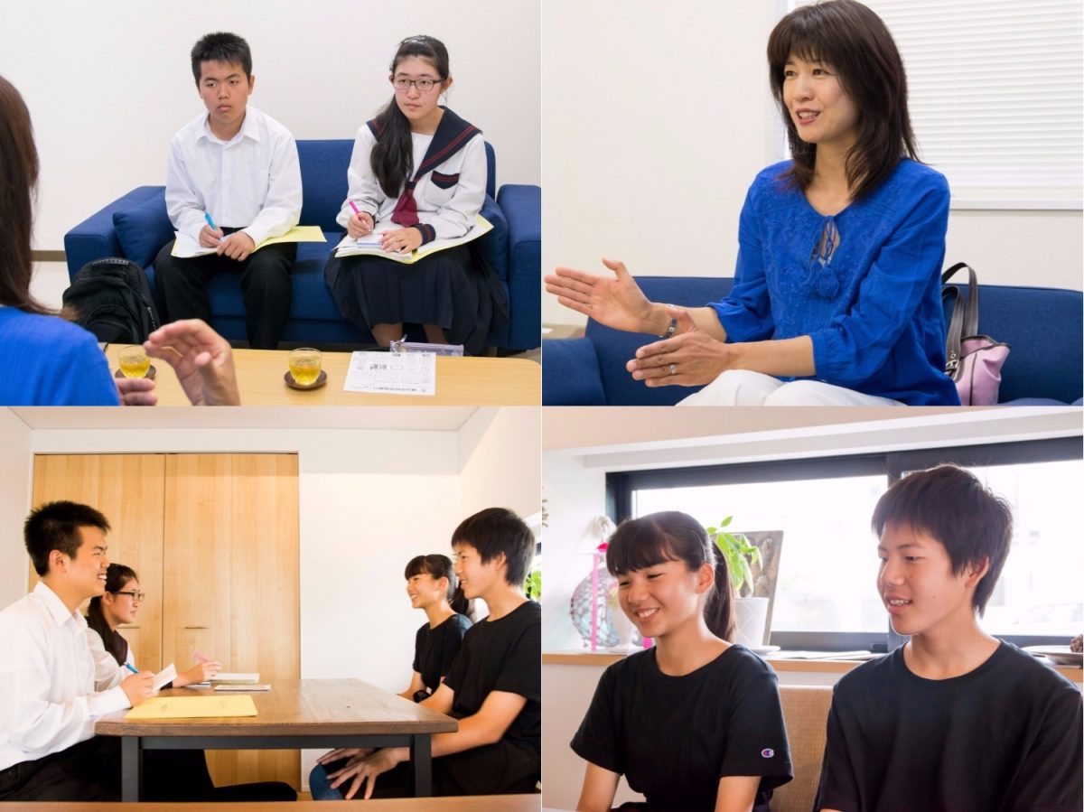 職場体験の中学生ライターが取材に挑戦! 元CAの図書館司書とカフェバッソで働く同級生へ