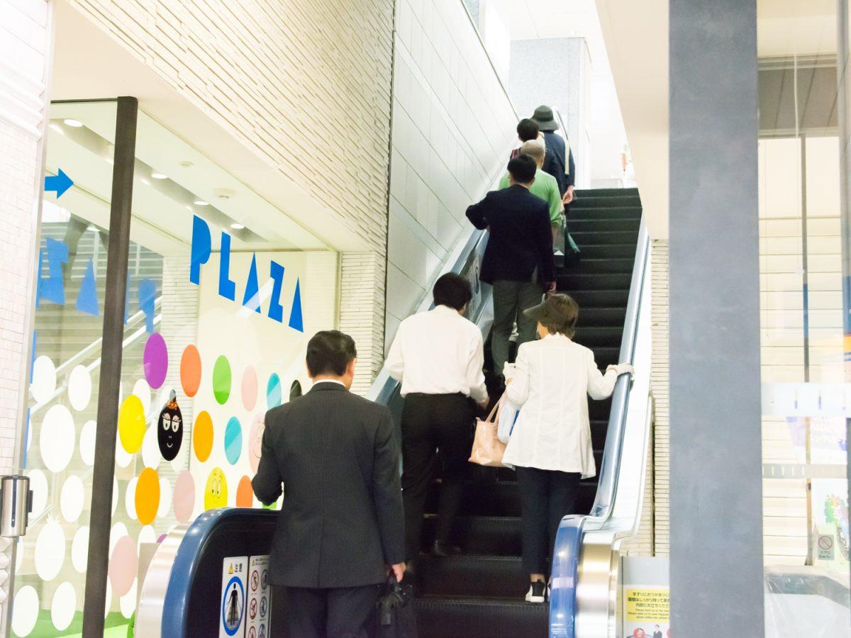【検証】静岡人エスカレーターで左側通行説 エスカレーターから見る県民性の秘密