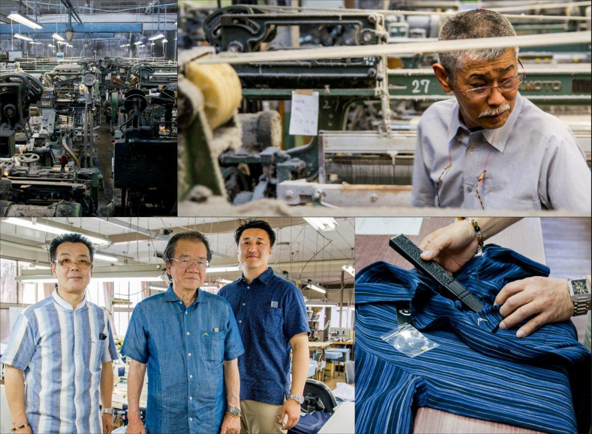 80年以上紡がれ続けた糸と伝統 「ふじのくにシャツ」に織り込まれた地元への愛
