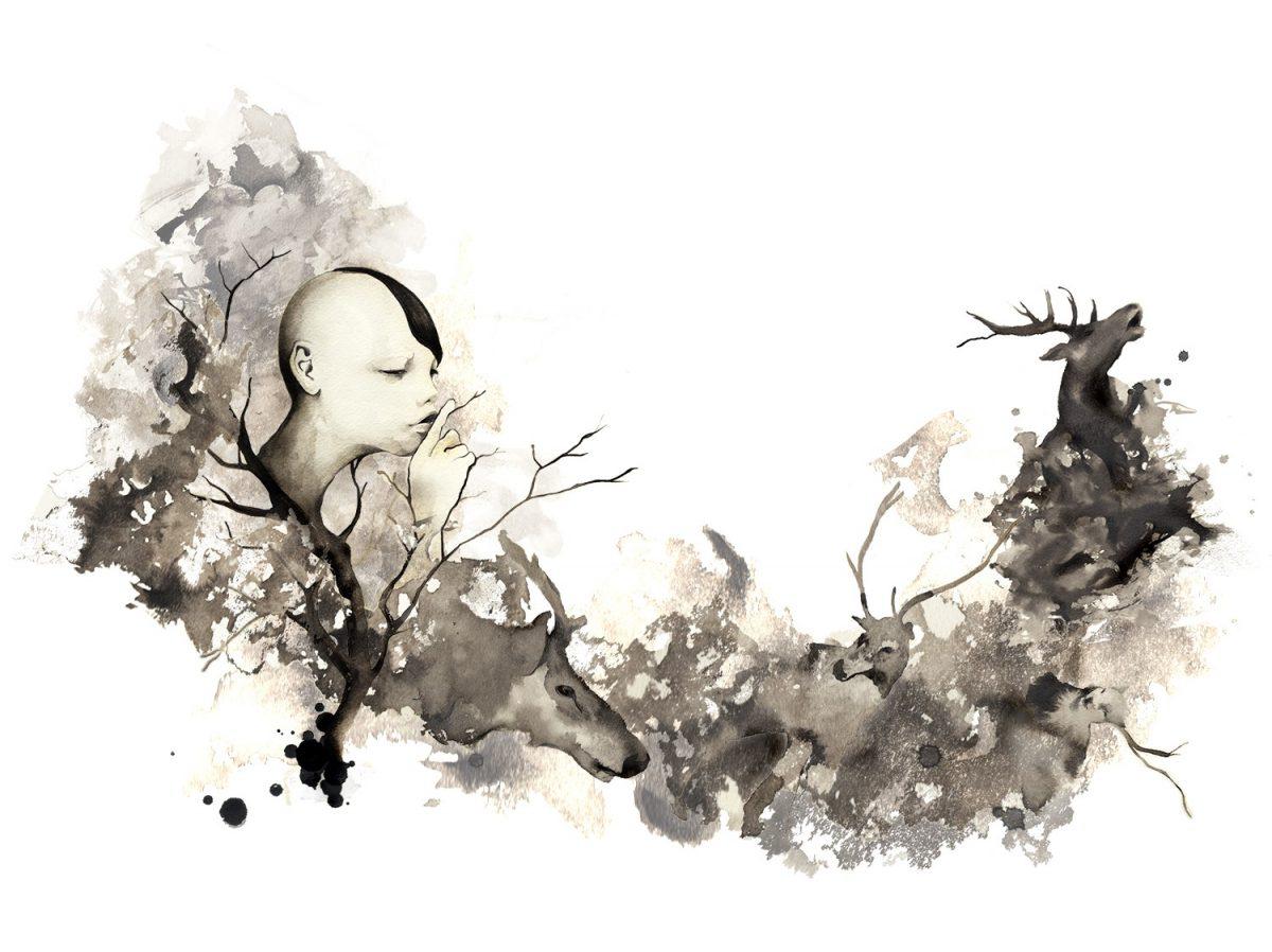 ストーリーを感じる幻想的なアート作品たち  「生と死」が混在するえかきクリエイターKOTA