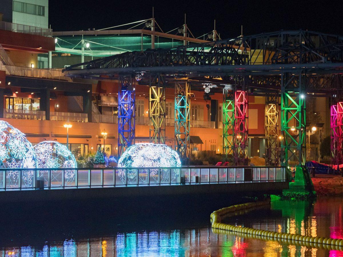 日本三大美港はイルミネーションも美しい! エスパルスドリームプラザ「清水港 海と光の空間」