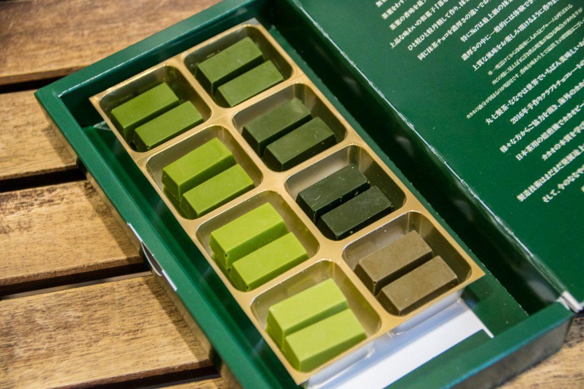 抹茶の濃さが違う7種類のチョコレート! 抹茶ファクトリーななやが手掛ける「MATCHA7」